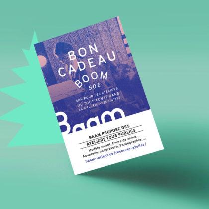 bon-cadeau-boom de 50 euros lorient