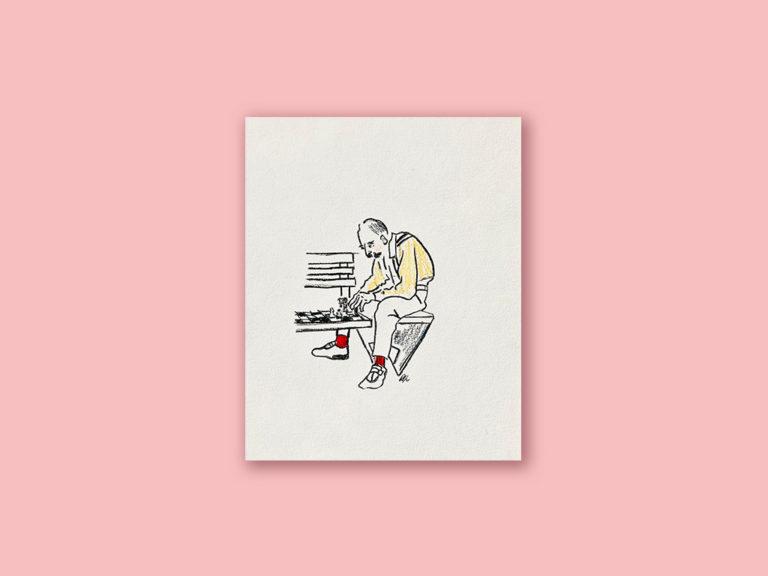 Le joueur d'échec – Œuvre originale