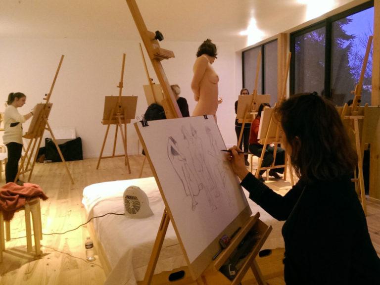 Atelier adultes – Initiation modèle vivant